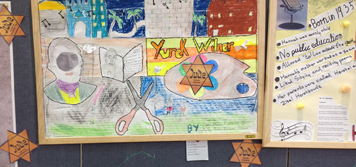 Yom Hashoa at Broughton Jewish Cassel NEW