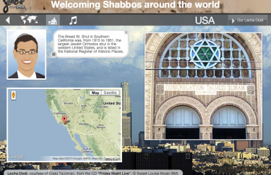 Visiting a synagogue in the USA